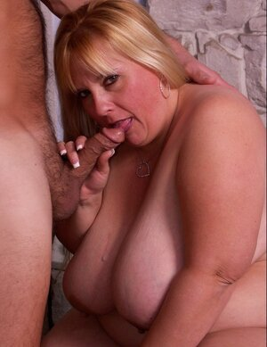 Big beautiful women with giant boobs fucked by well-set man after fantastic hooter and blow jobs